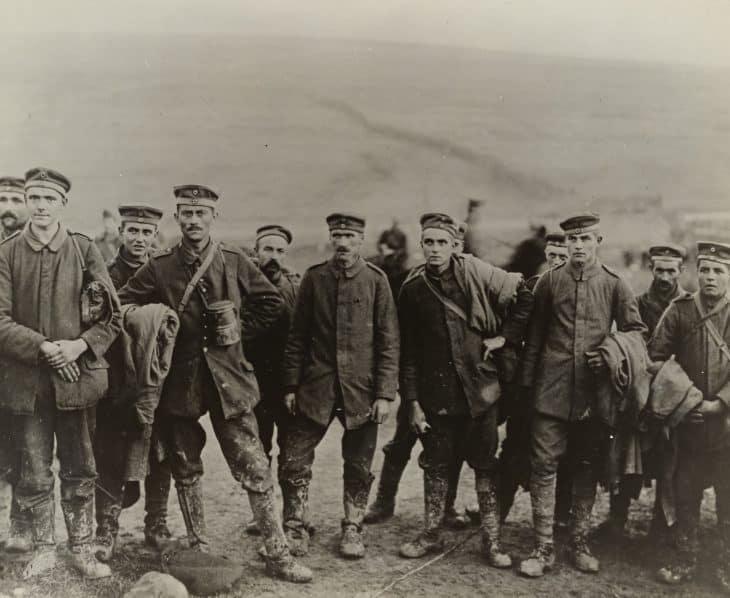 German prisoners of WW1 in 1917