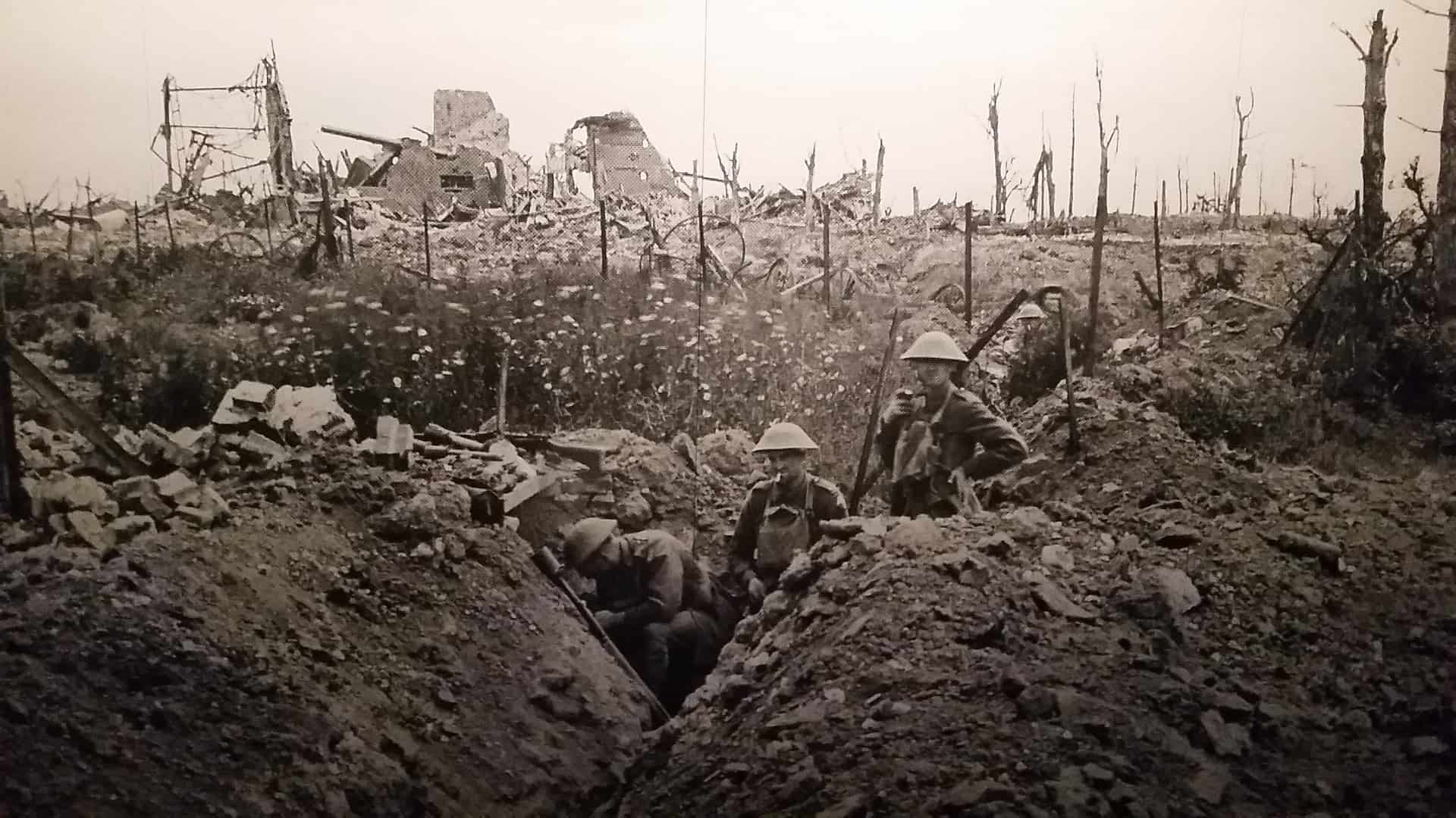 Trenches of WW1