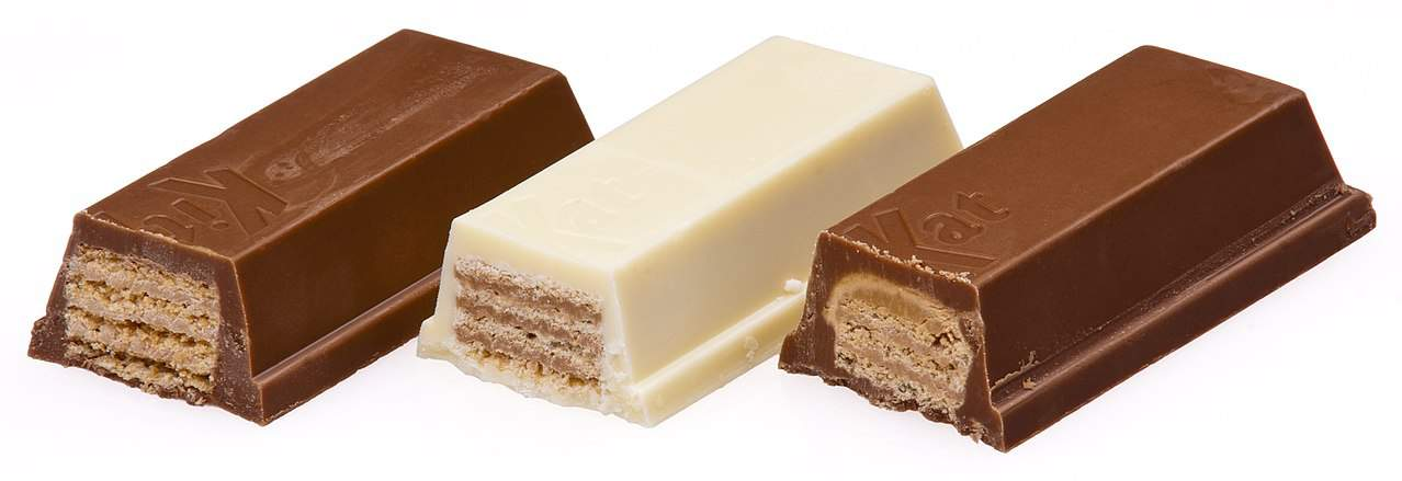 Kit Kat bars, food facts