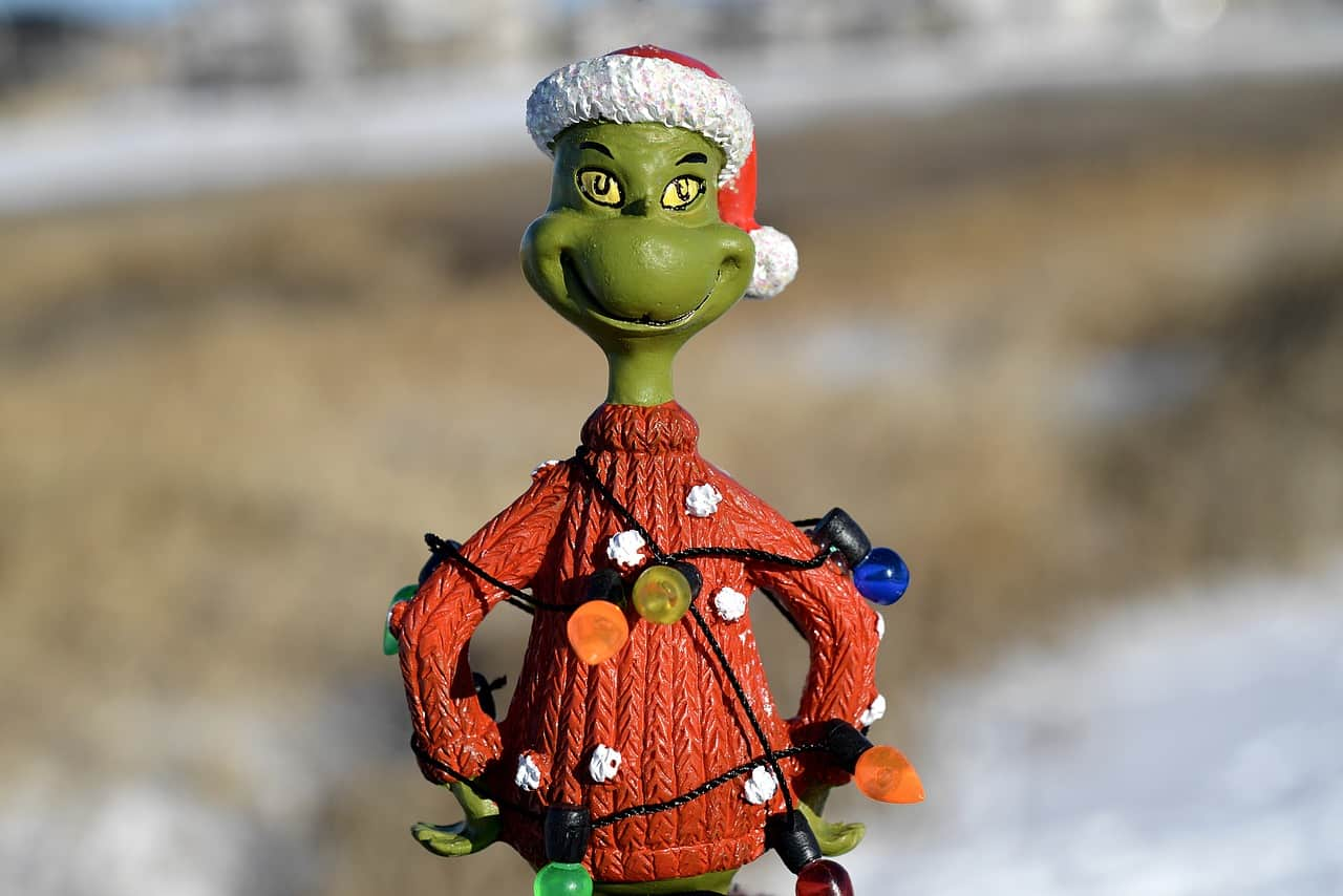 grinch, figurine, christmas facts