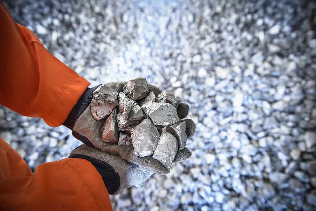 man holding titanium