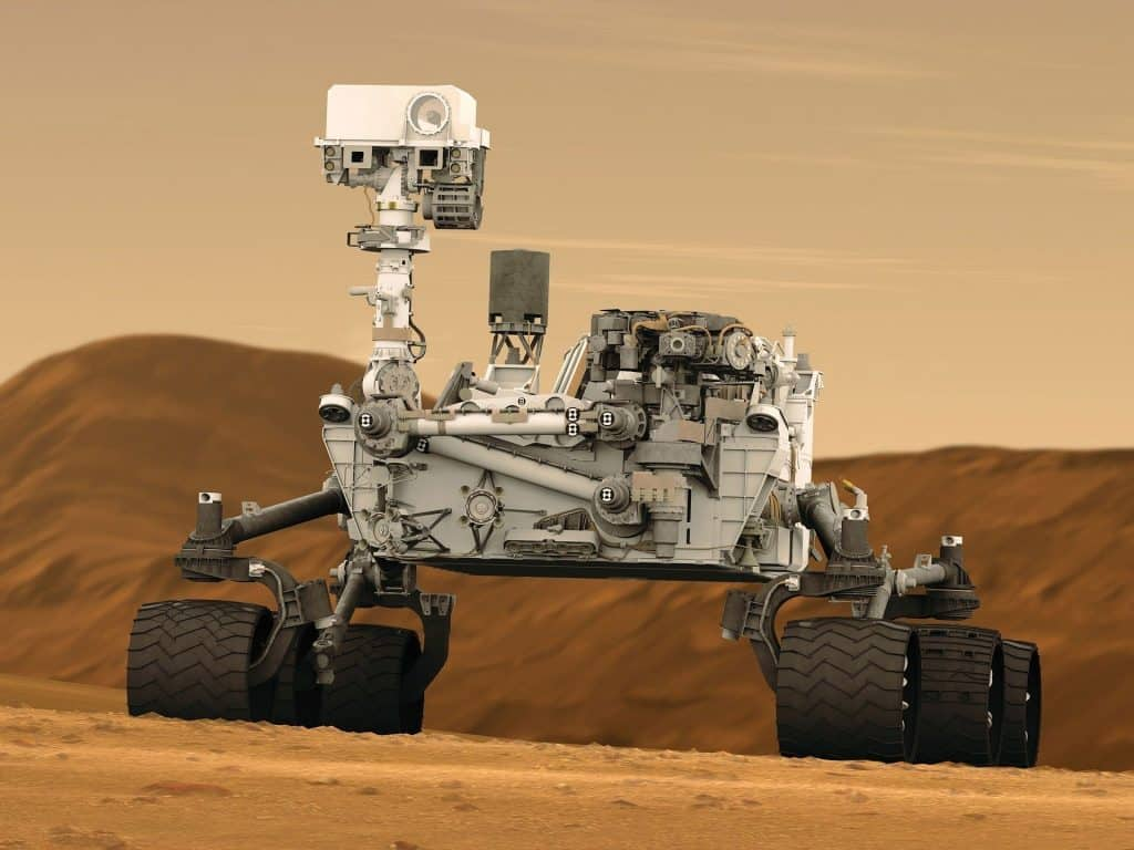mars rover nuclear energy facts