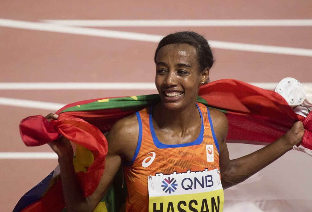 sifan hassan fastest mile female category