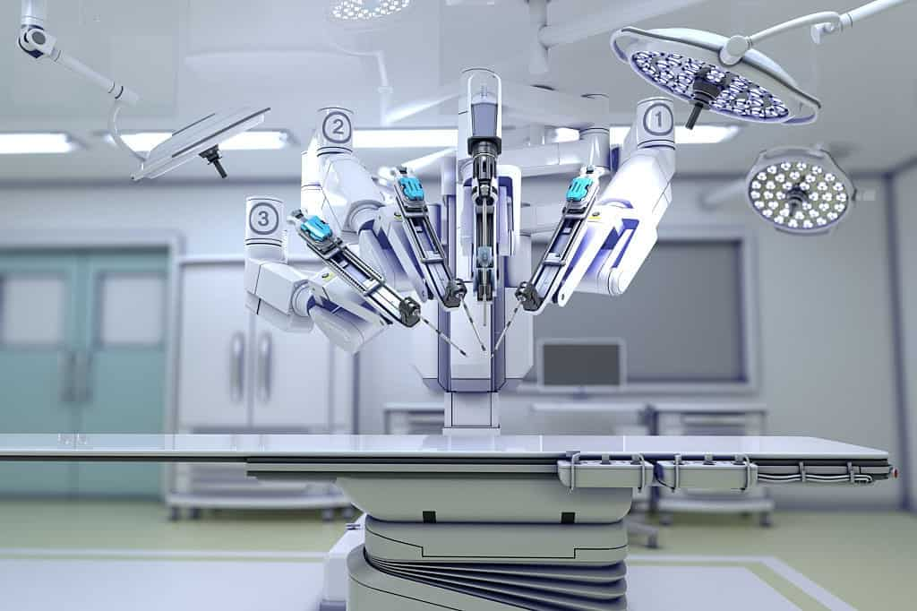 robot use in surgery