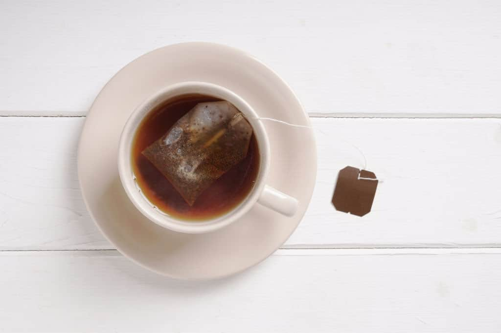 teabag in cup, food facts
