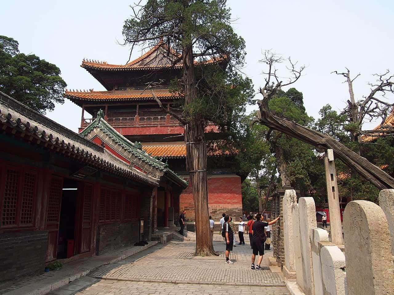 temple of confucius in Qufu