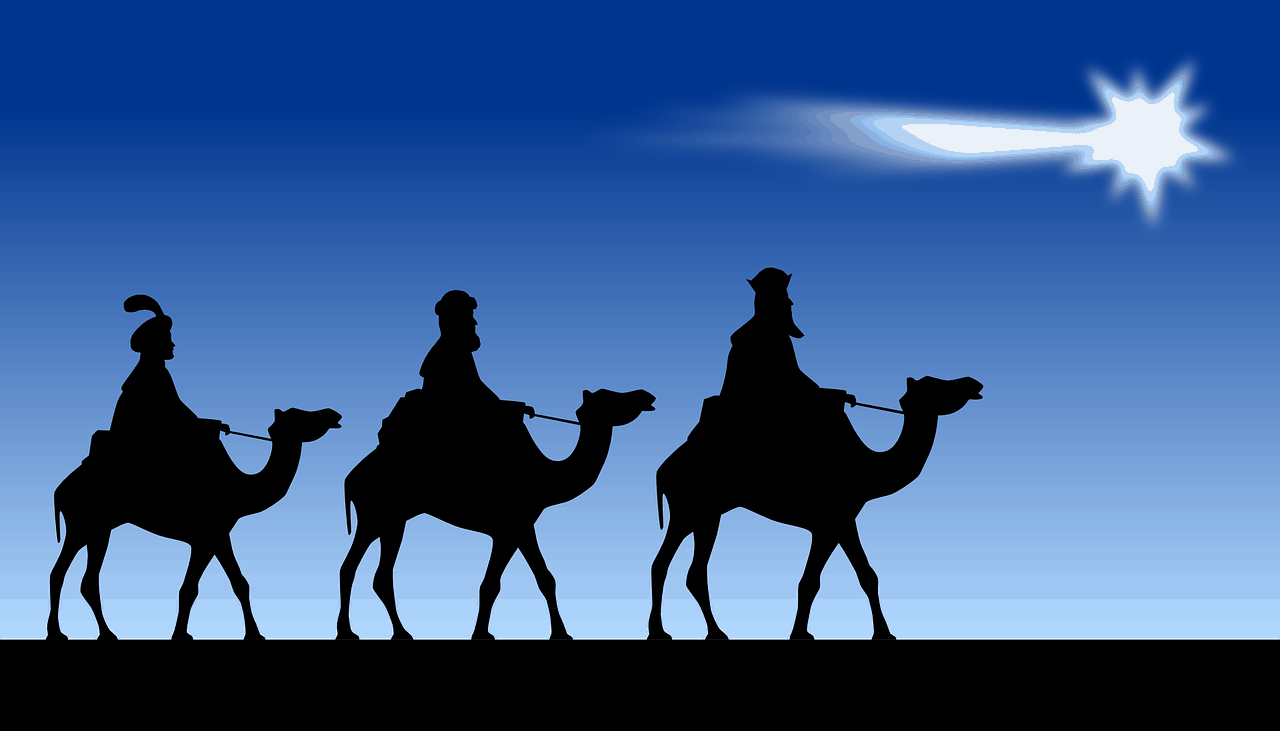 three wise men, christmas facts