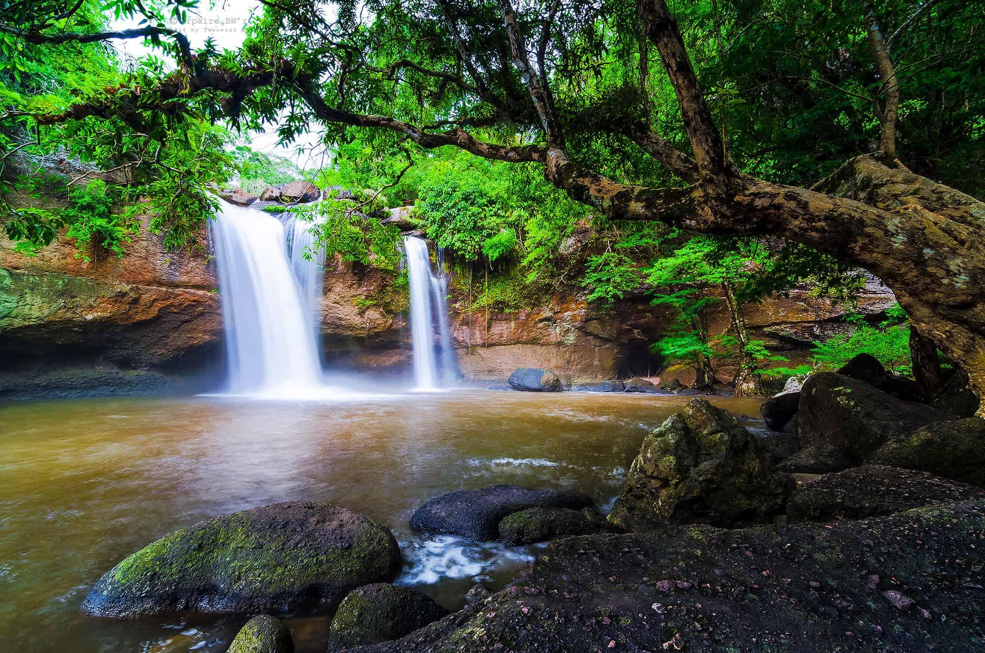 Haew Suwat Waterfall, Khao Yai National Park, Nakhon Ratchasima, Thailand