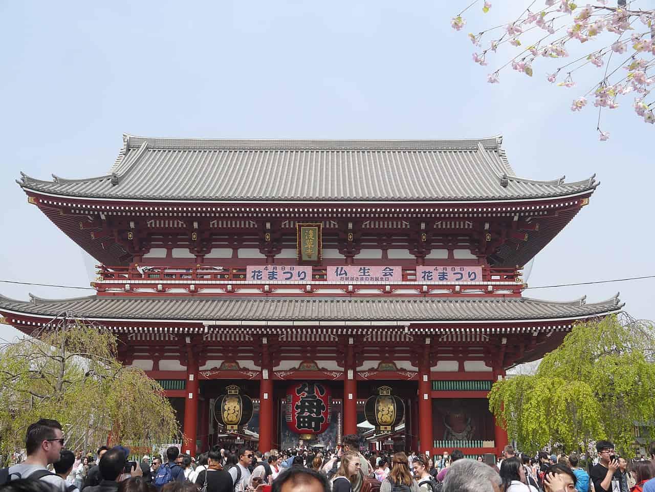 Sensō-Ji Temple, tokyo, tokyo facts