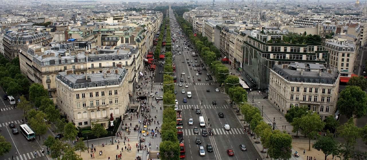 cars, streets, paris facts
