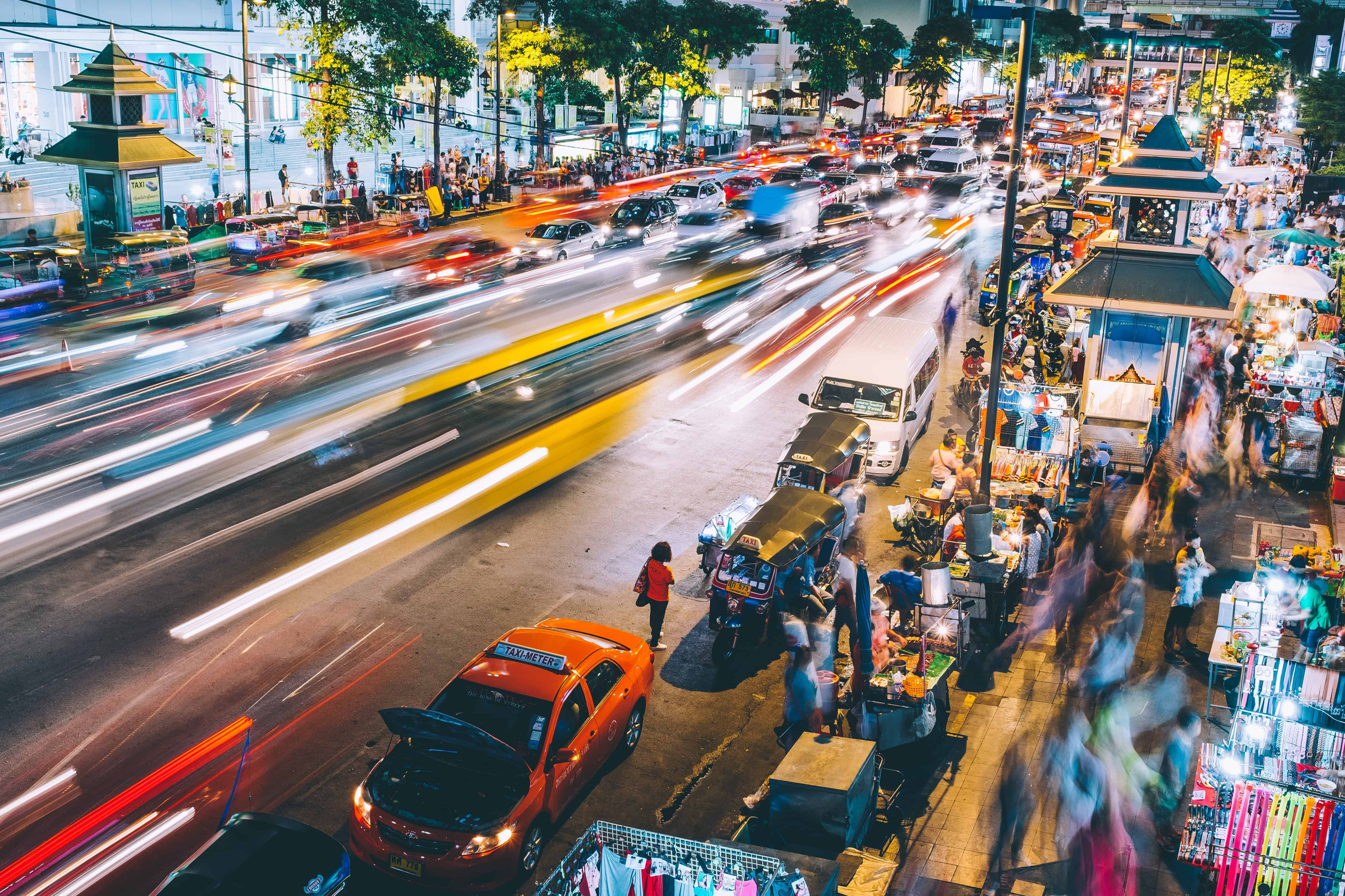 thailand streets