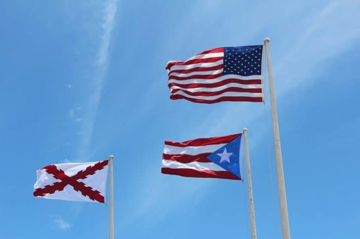 flags, puerto rico facts