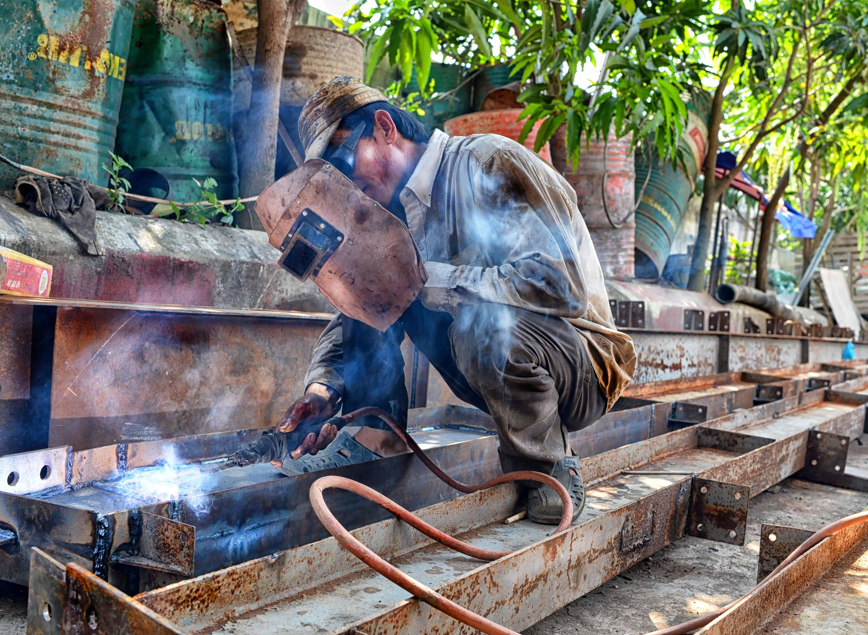 Metal fabrication, metal welding