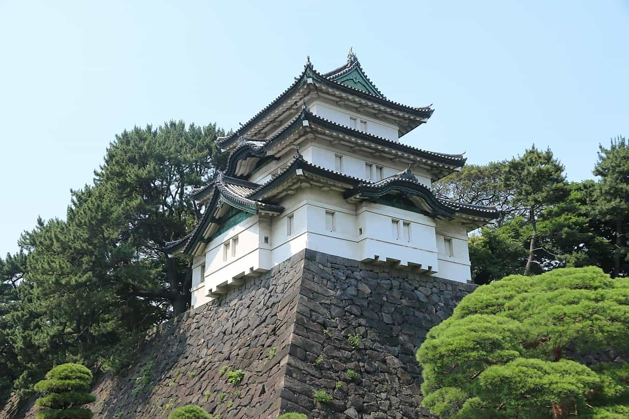 japan imperial house in tokyo, tokyo facts