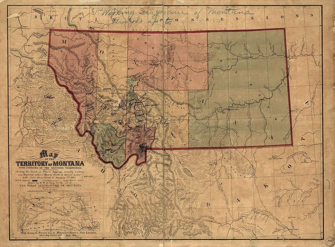 montana territory, montana facts