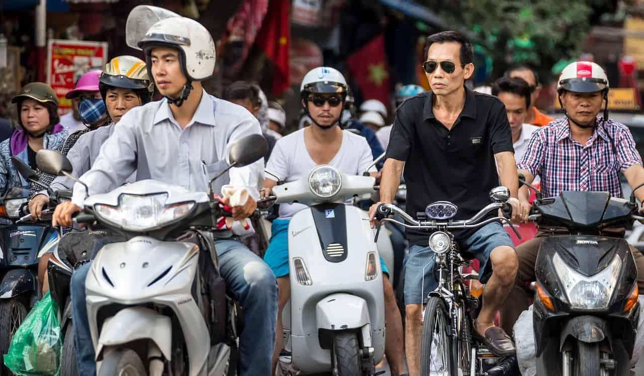 motorbikes in vietnam, vietnam facts