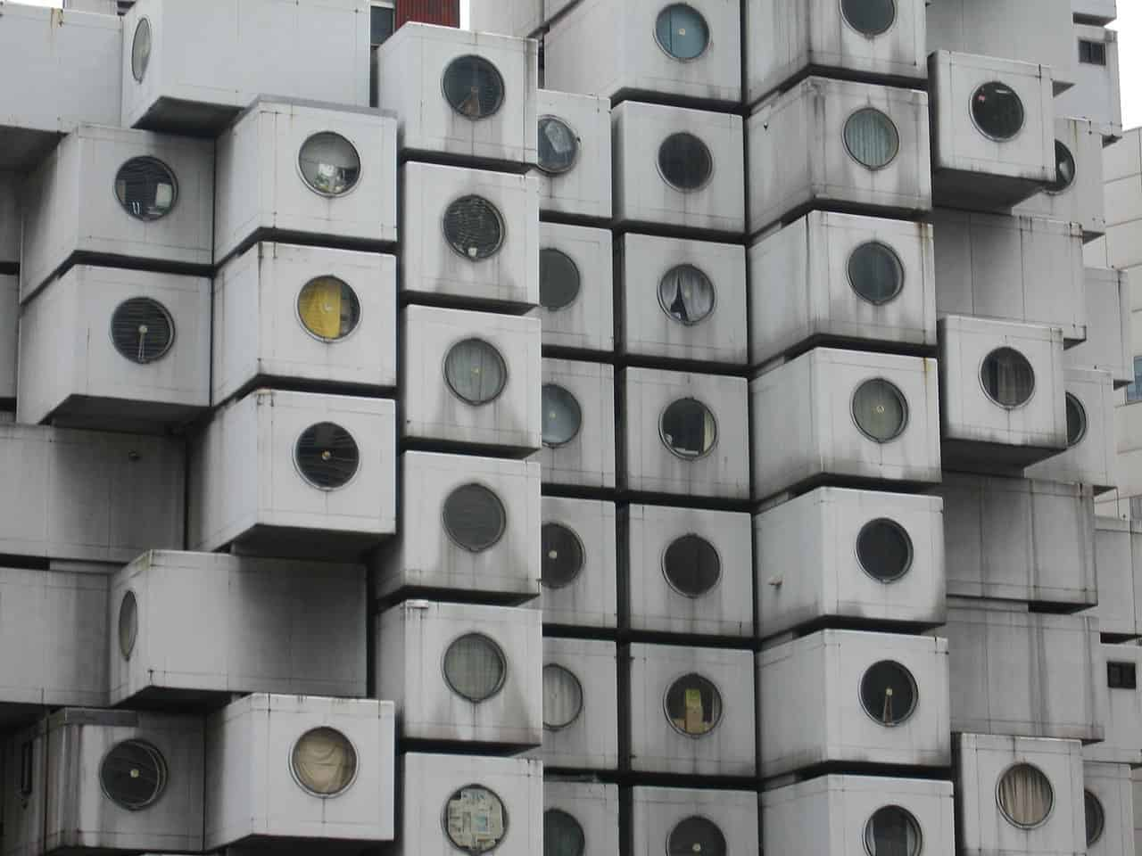 capsule tower, tokyo facts