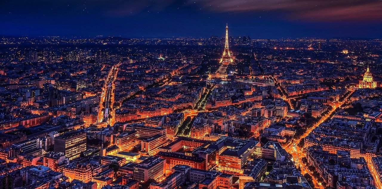 paris as the city of light, paris facts