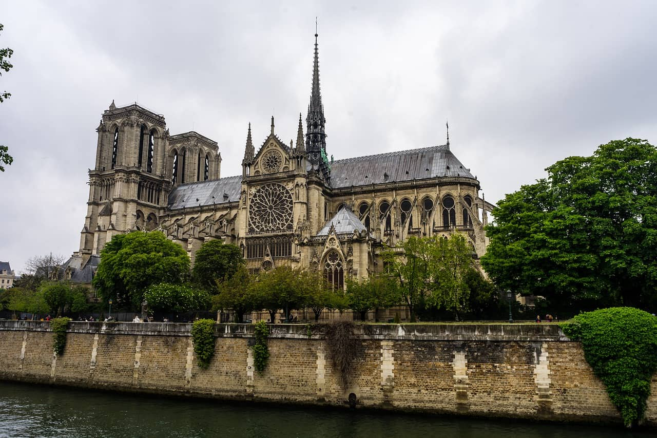 the notre-dame cathedral in paris