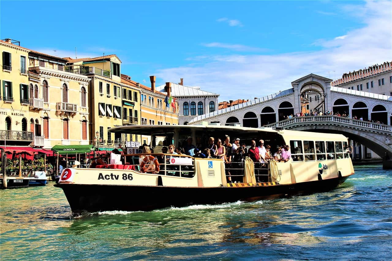 venice vaporetto boat