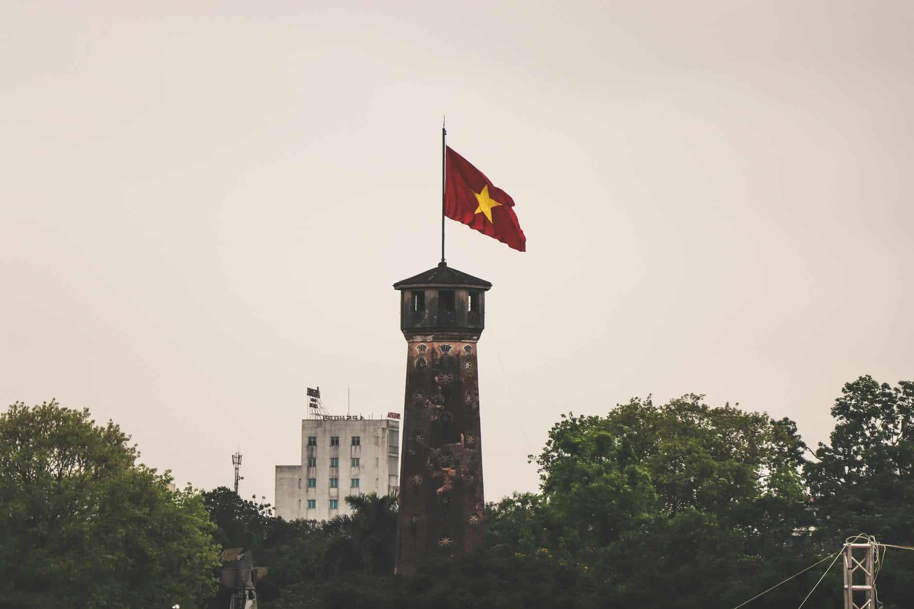 vietnam flag, vietnam facts