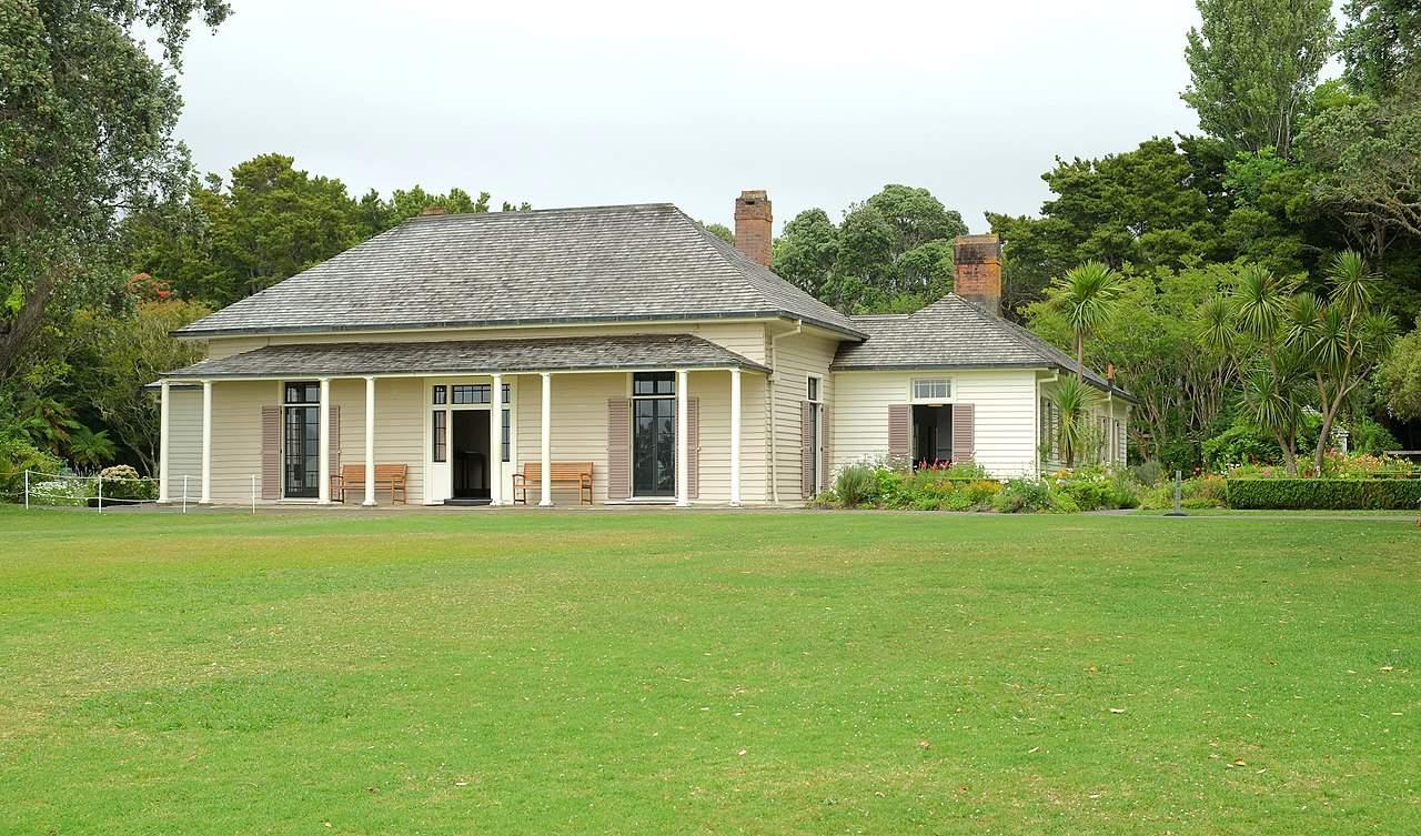 waitangi treaty grounds in new zealand