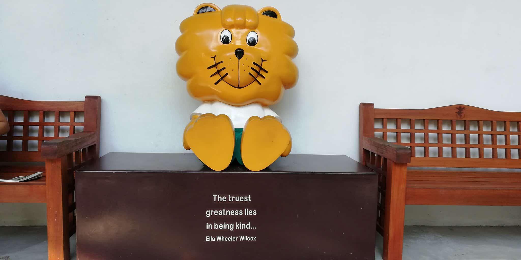 singa the lion, singapore kindness movement, singapore facts