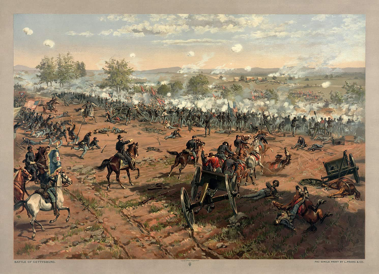 civil war facts, historical events facts