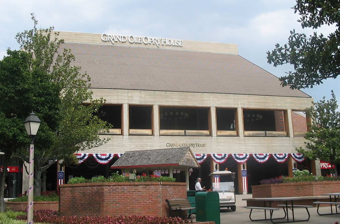 The Grand Ole Opry House, where Elvis first performed on stage, music facts