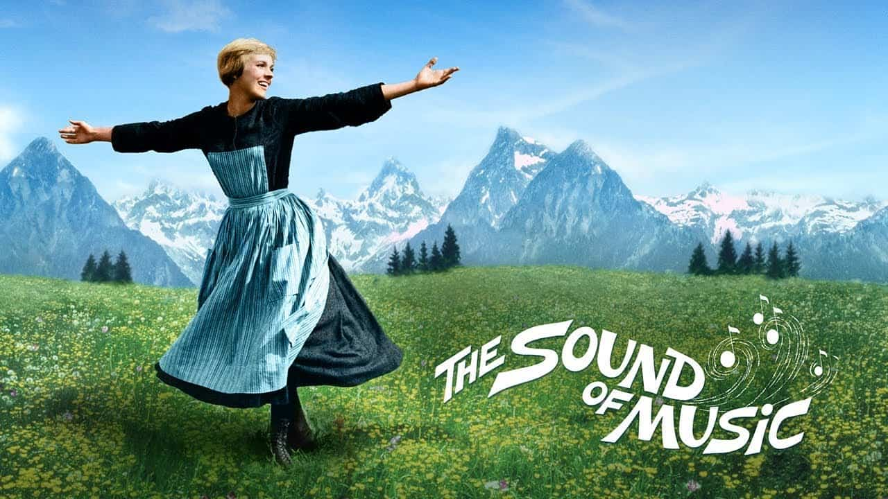 The cover for the Sound of Music, music facts