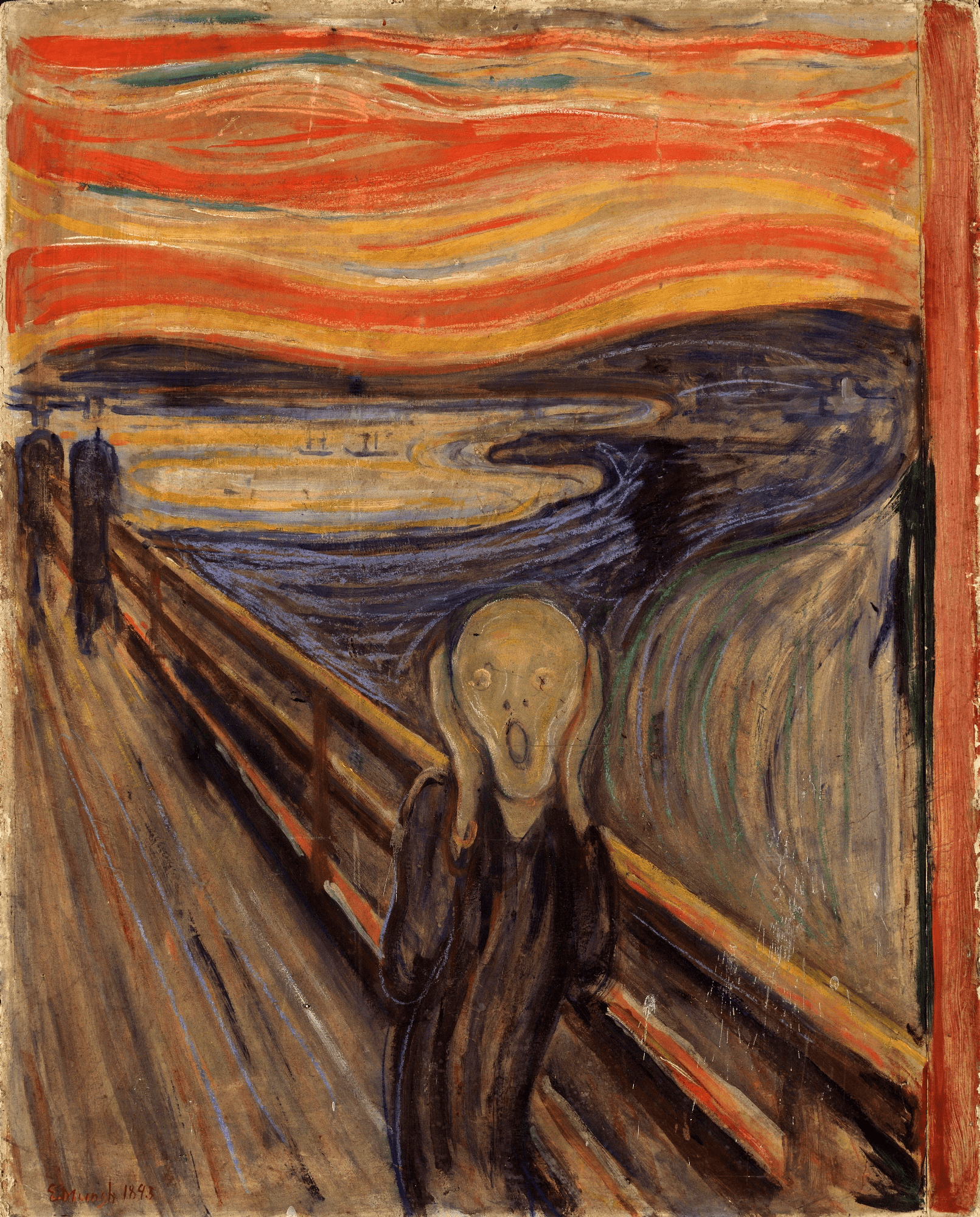 The Scream by Edvard Munch, Art facts