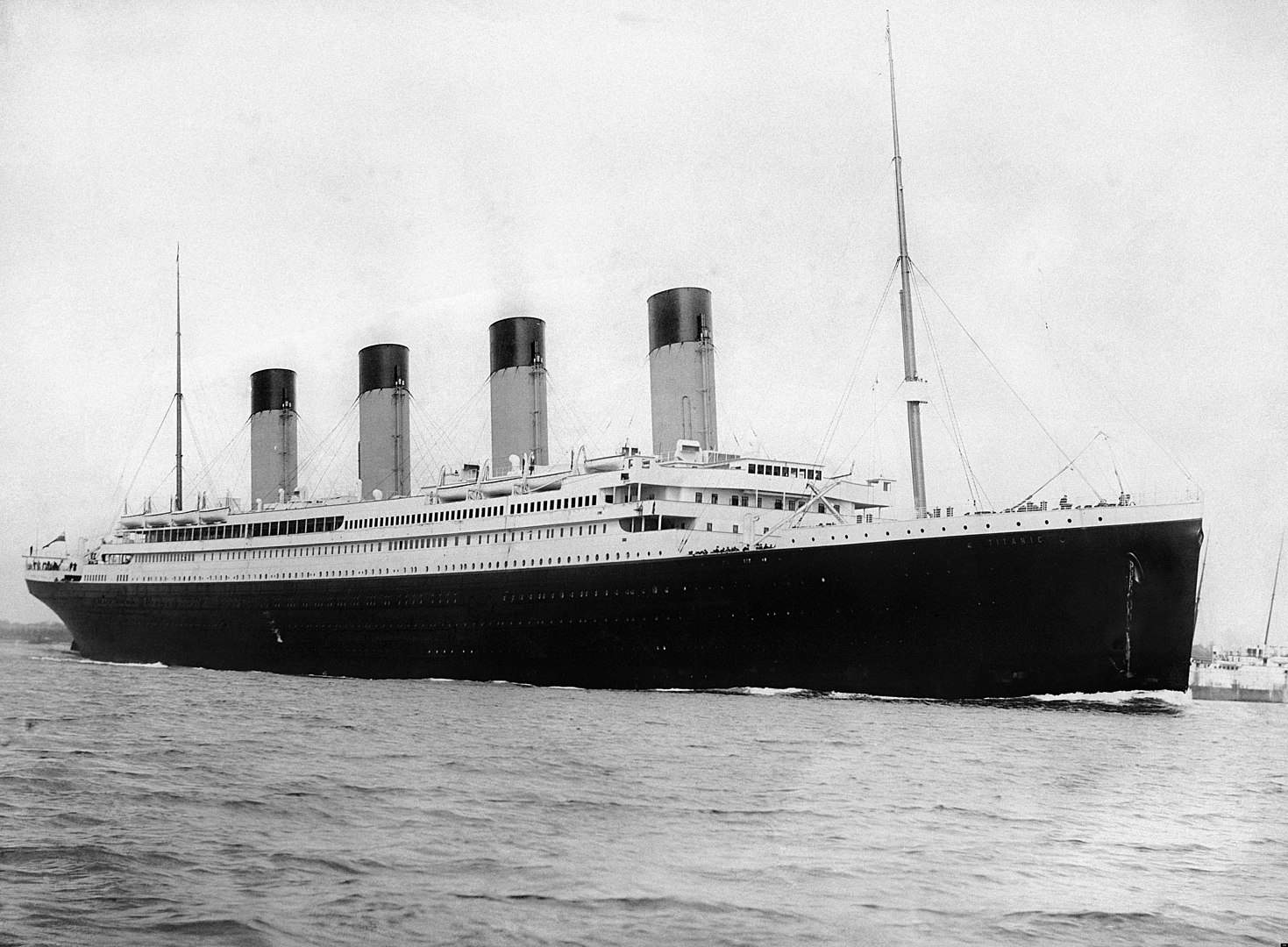 Titanic departing on its fateful journey, titanic facts, historical events facts
