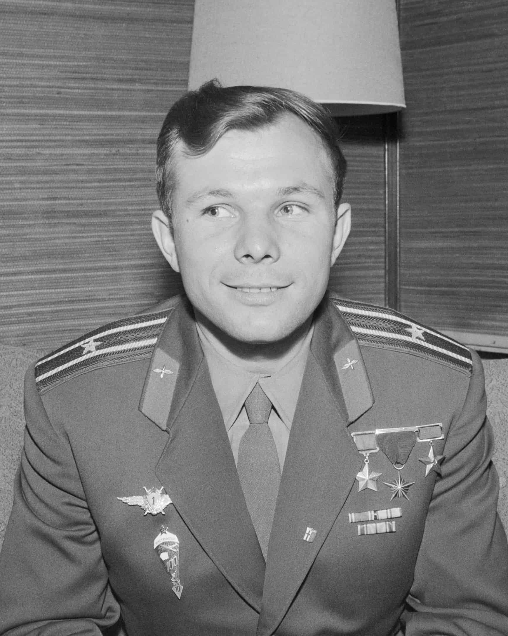 Yuri Gagarin, the first man in space, who sang a song while waiting to return to Earth, music facts