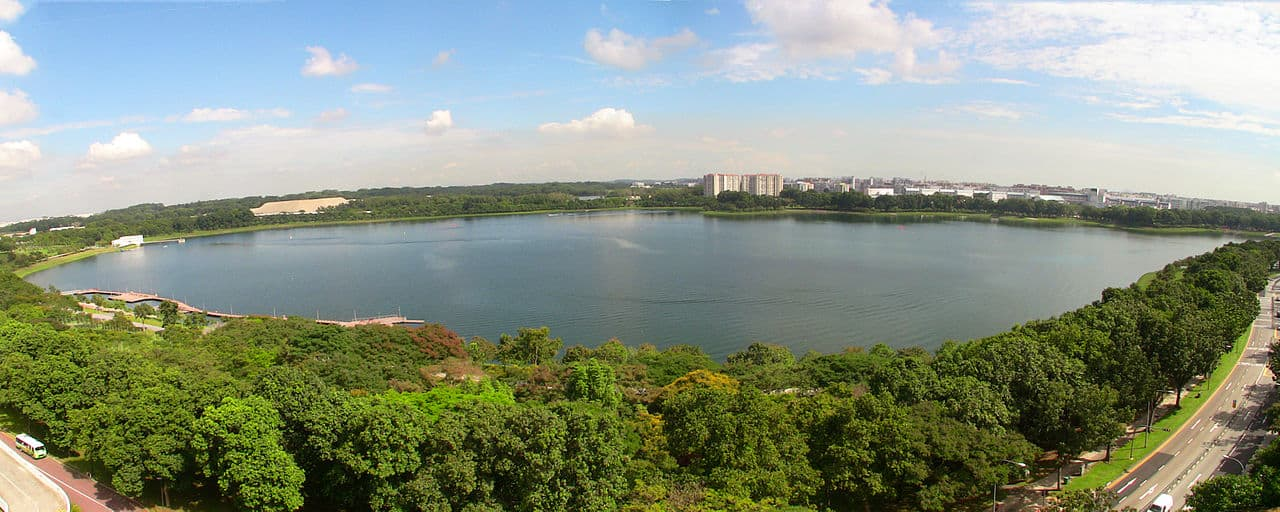 bedok reservoir in singapore, singapore facts