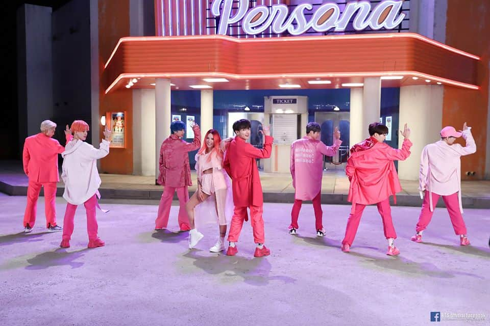 boy with luv, BTS ft. Halsey, BTS facts