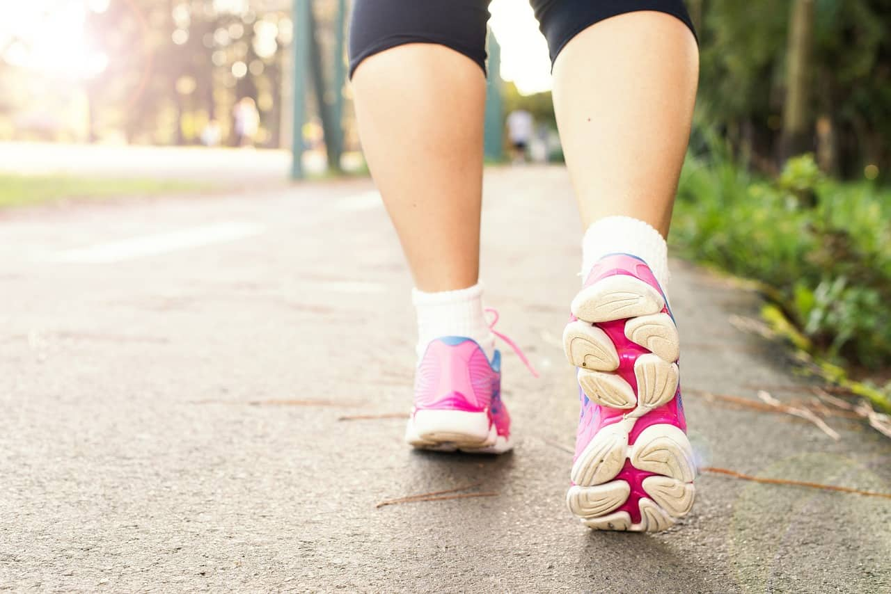 brisk walking exercise, health facts