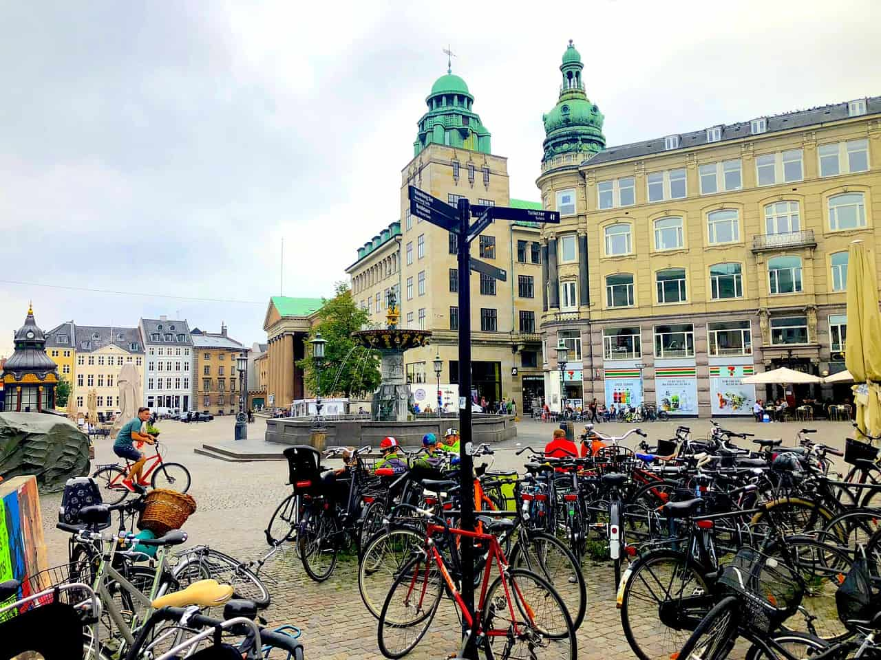 bicycle, street, denmark facts