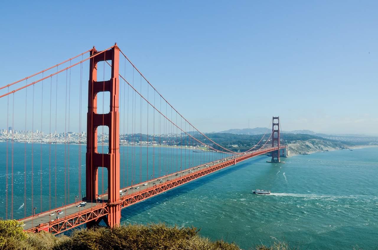 golden gate bridge facts, landmarks facts