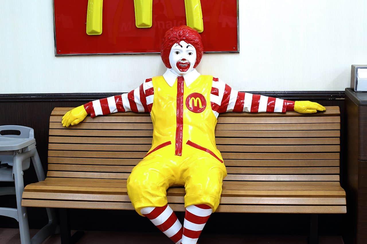 japanese version donald mcdonald, mcdonald's facts