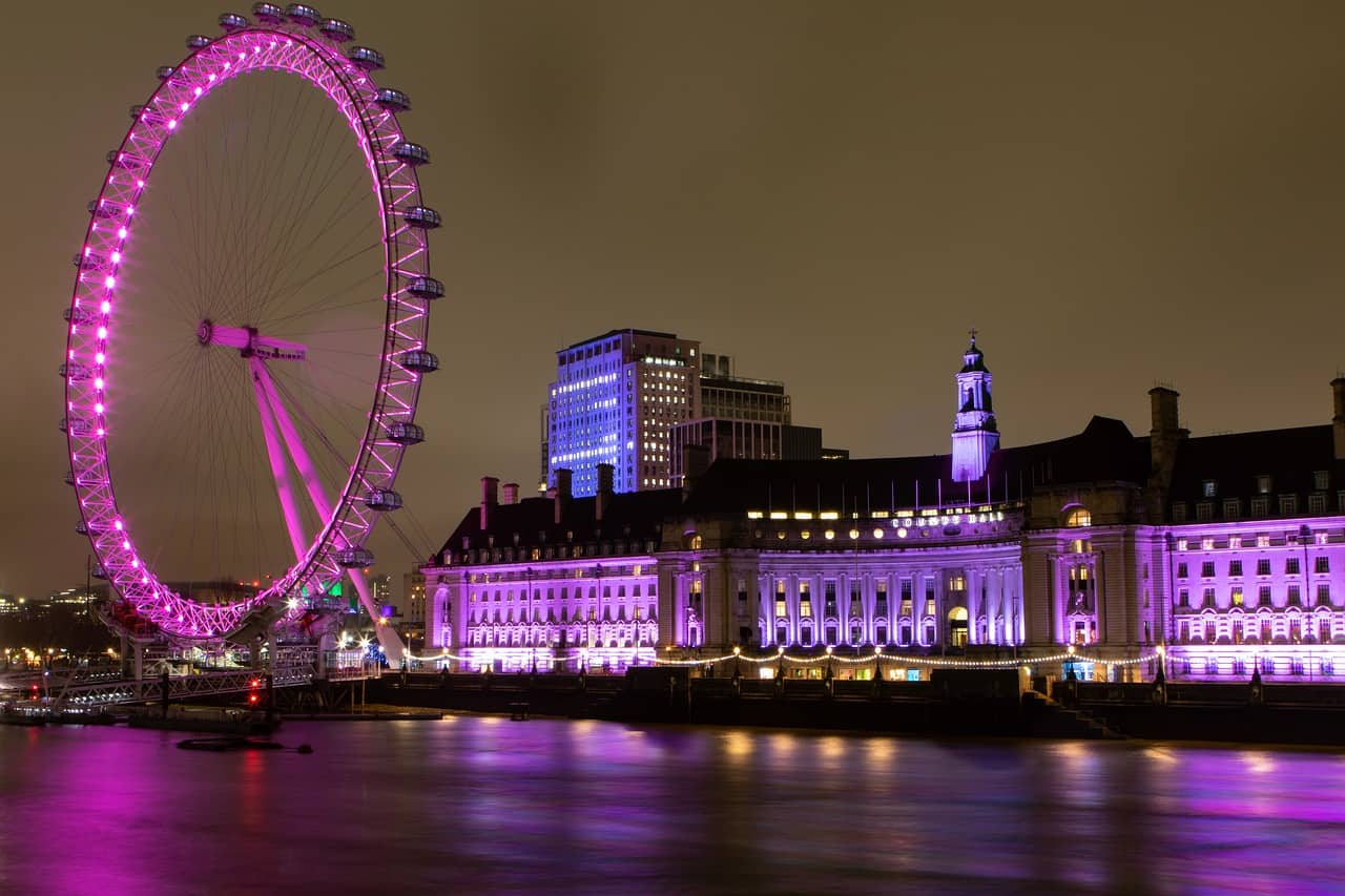 london eye facts, landmarks facts