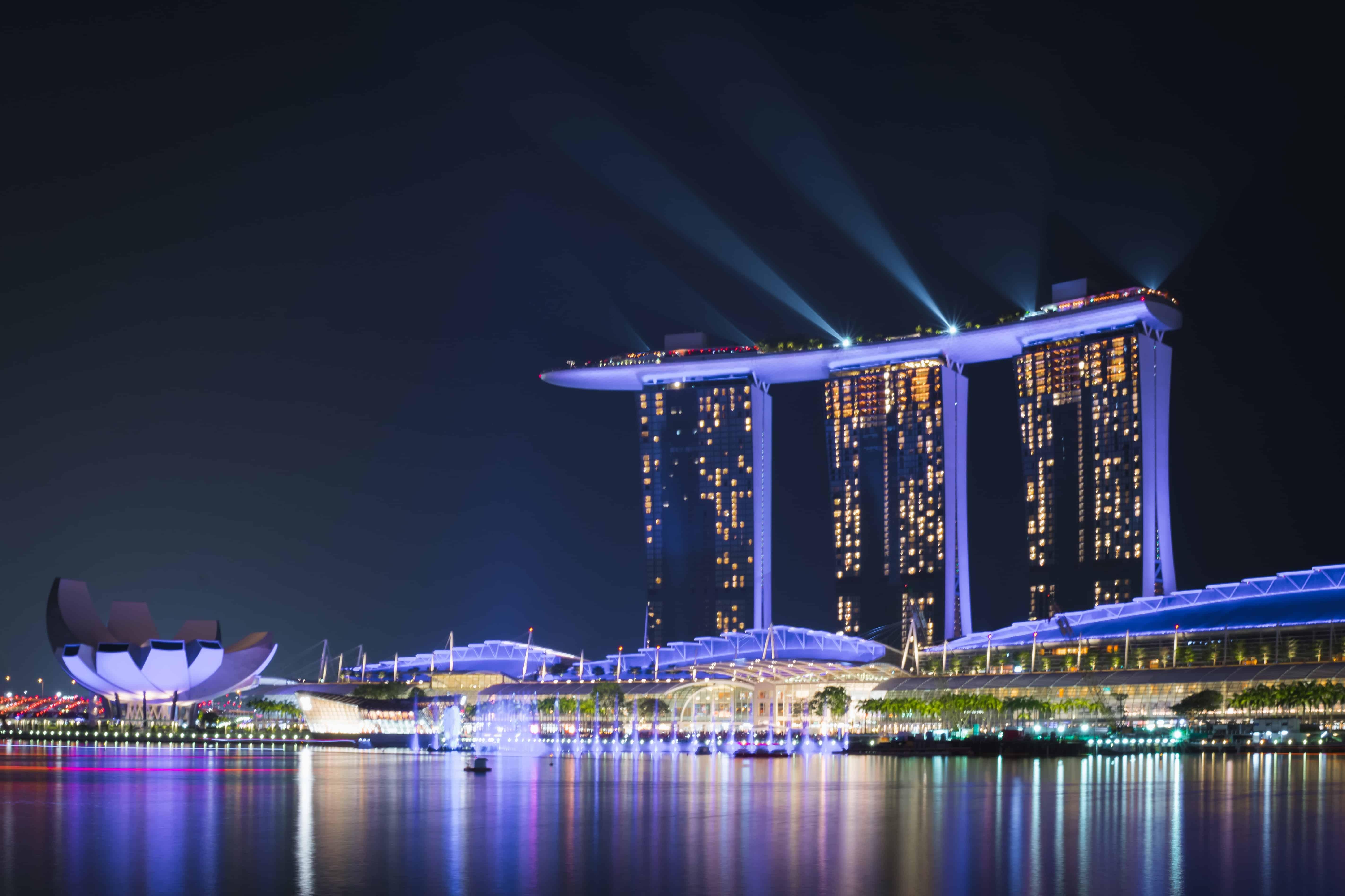 marina bay sands, singapore facts