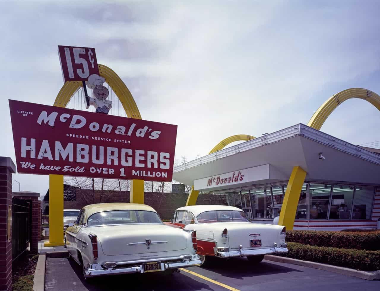 mcdonald's first store, mcdonald's facts