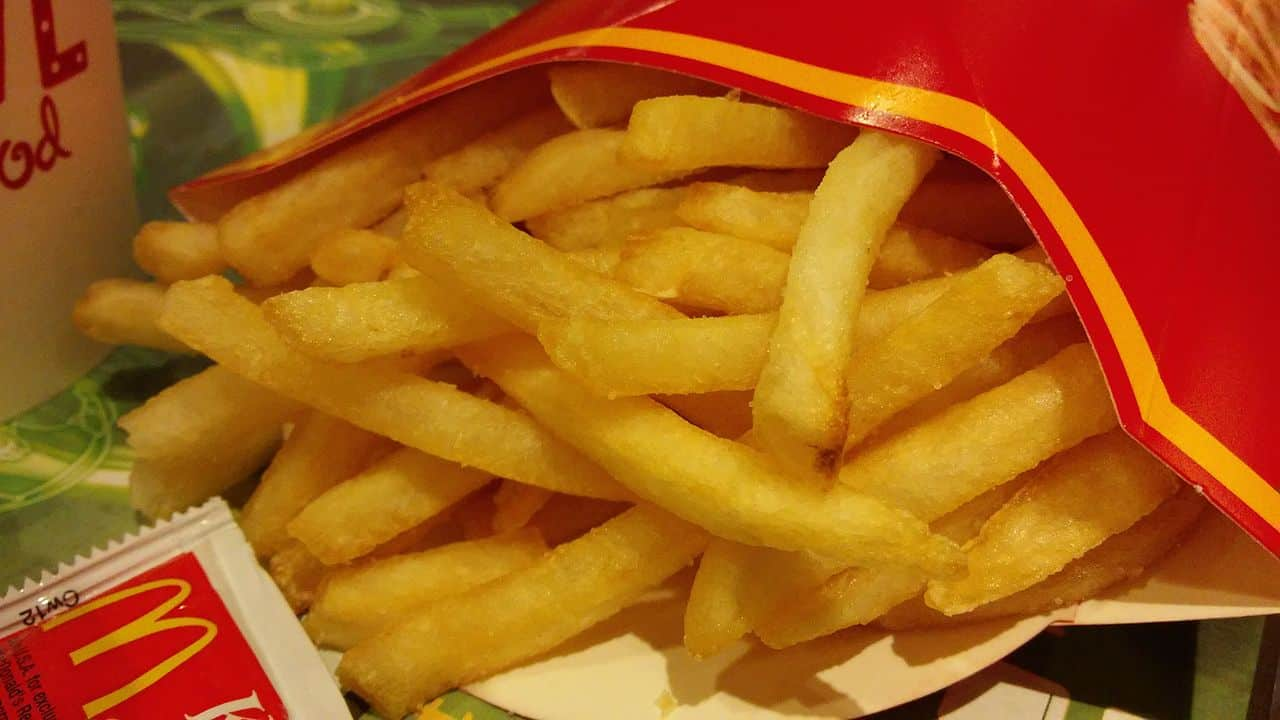 french fries, mcdonalds facts