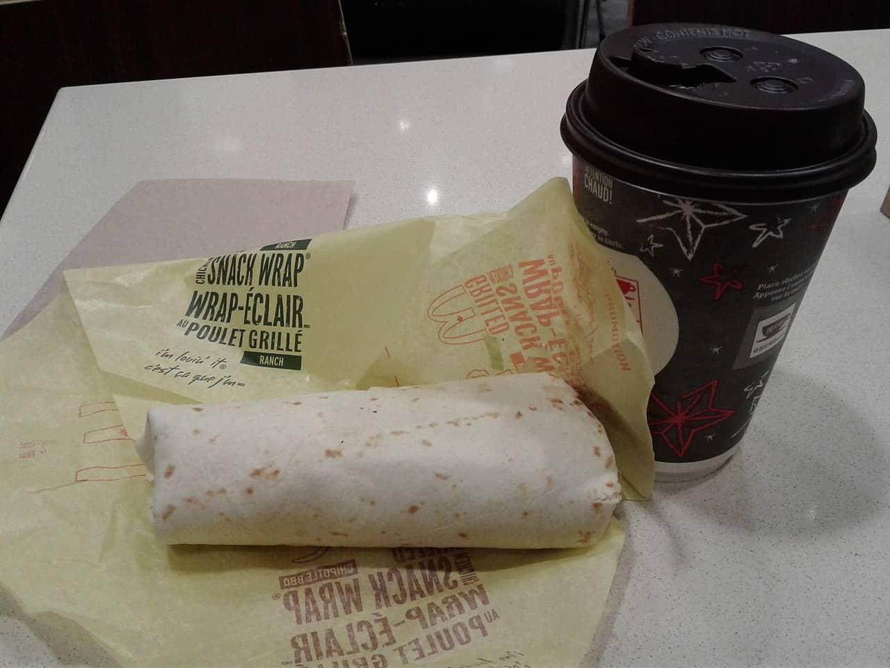 mcwrap, coffee, mcdonald's facts