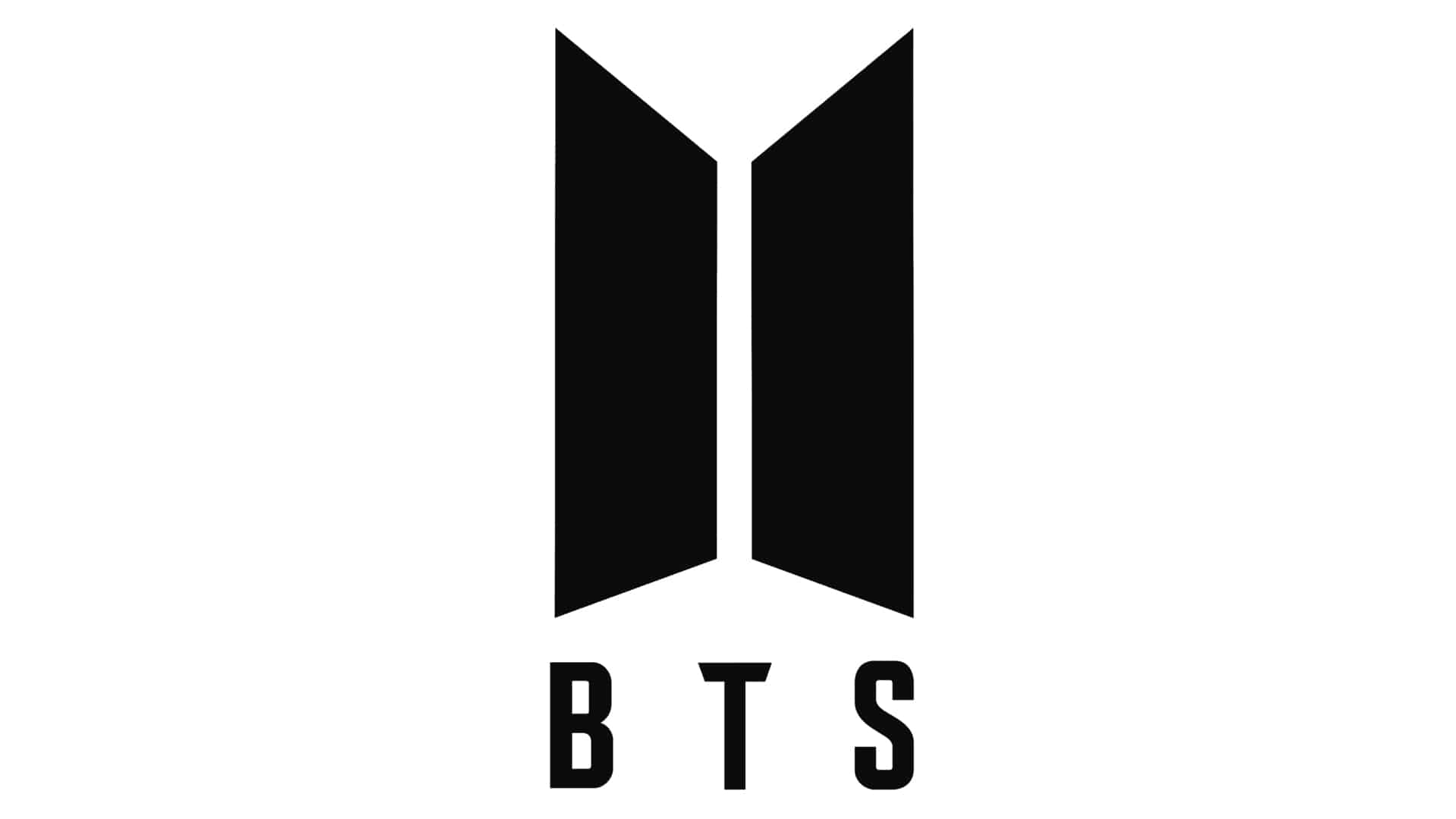 official BTS logo for BTS facts