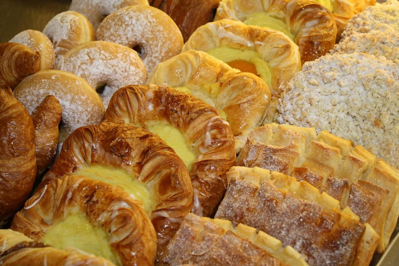 danish pastries, food, denmark facts