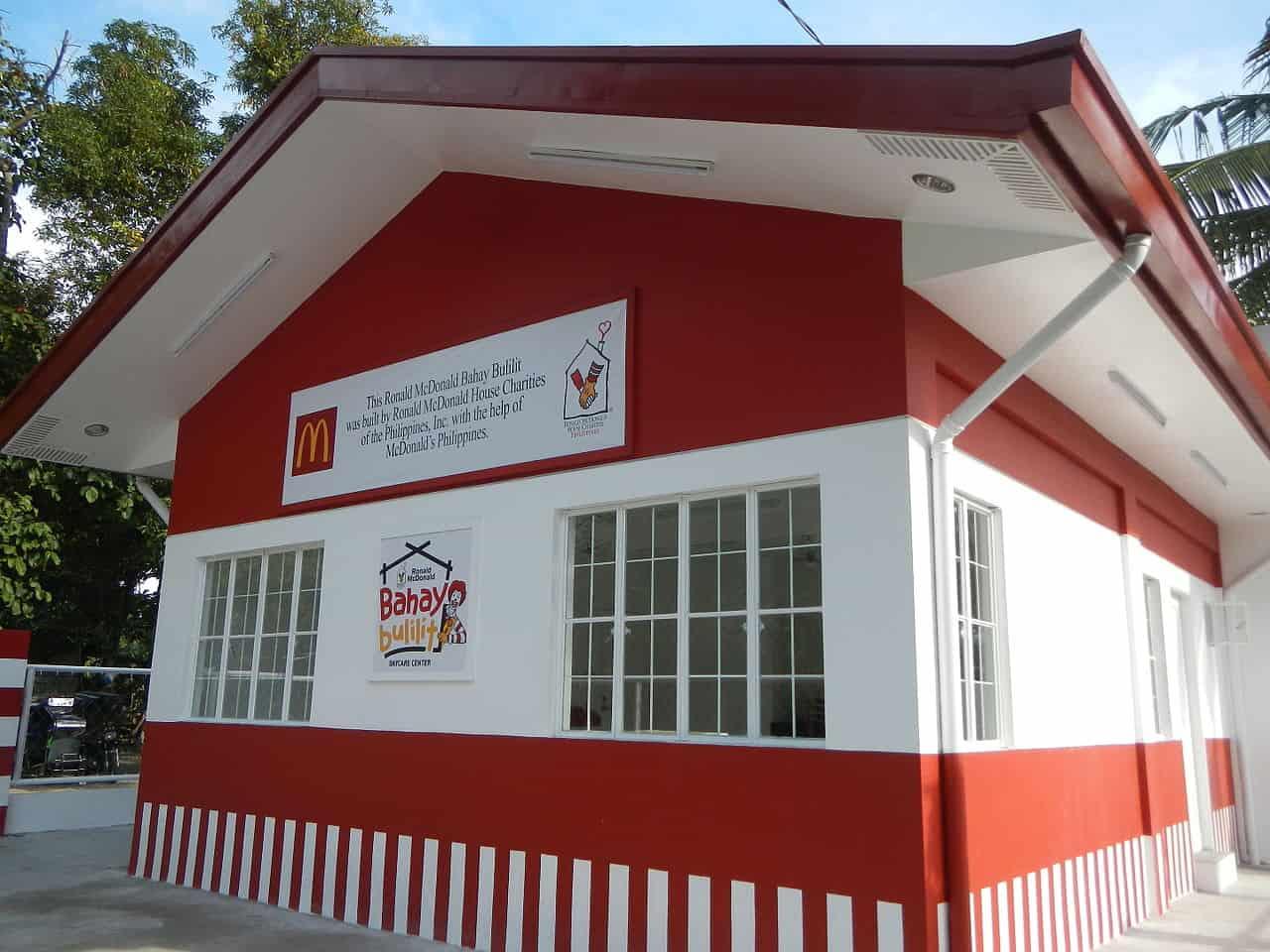 ronald mcdonald house of charities, mcdonald's facts