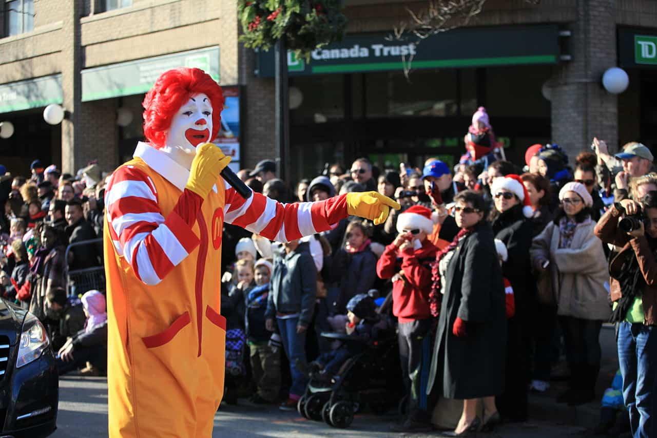 ronald mcdonald mascot, mcdonald's facts
