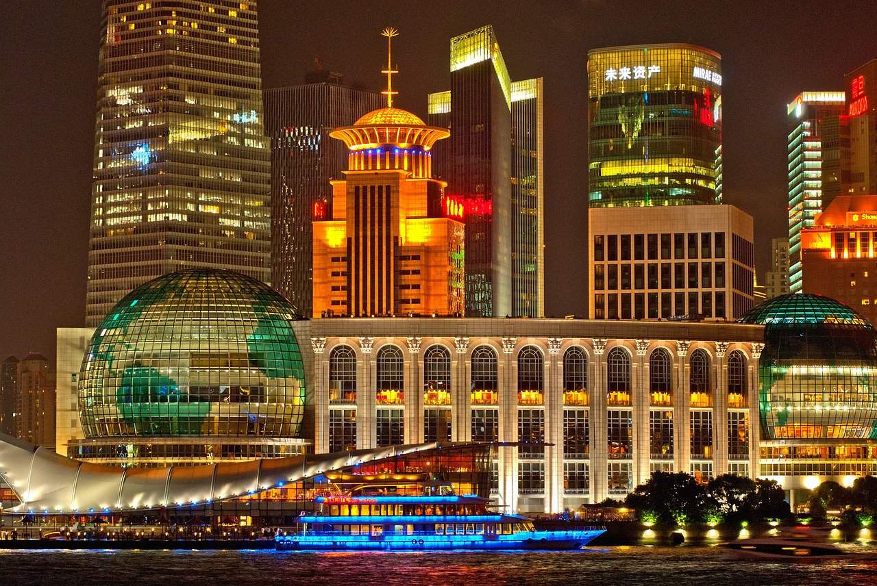 Shanghai night scene, Shanghai facts