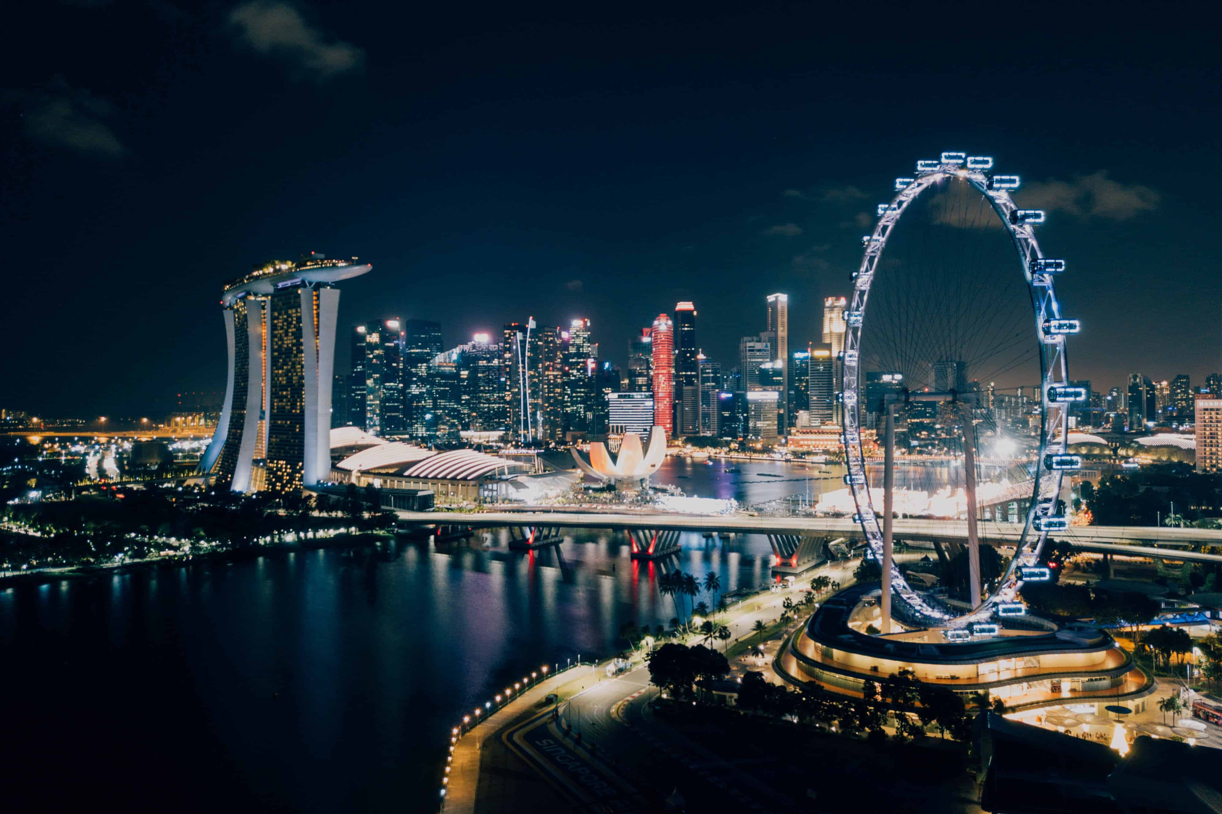 singapore flyer, singapore facts